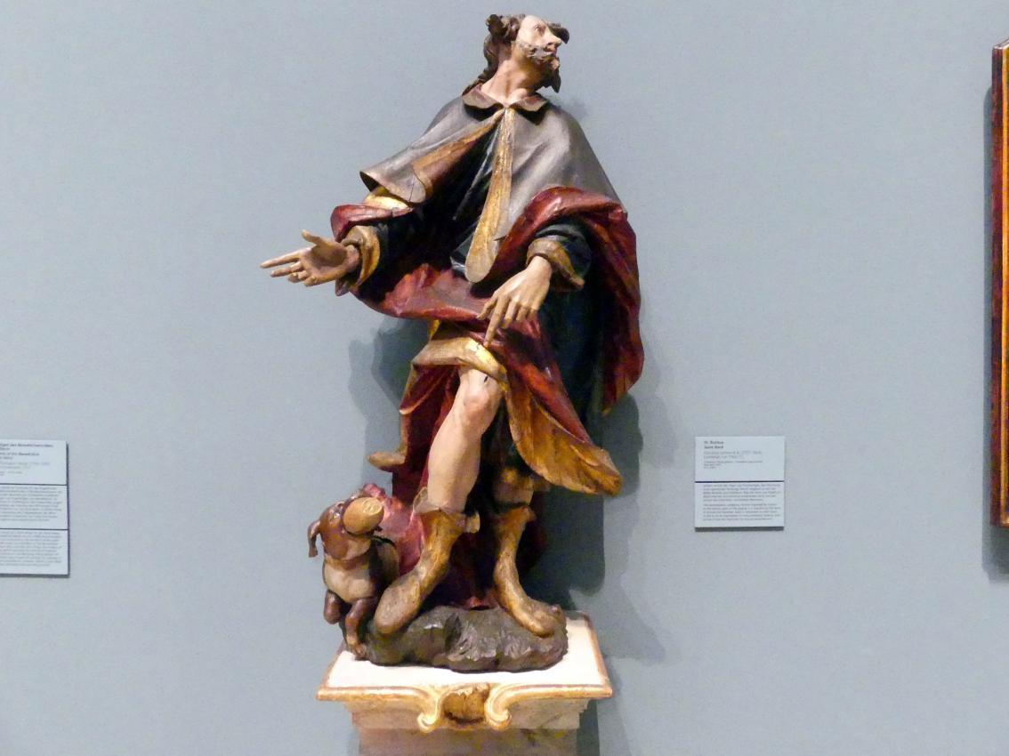 Christian Jorhan der Ältere: Hl. Rochus, um 1760 - 1770
