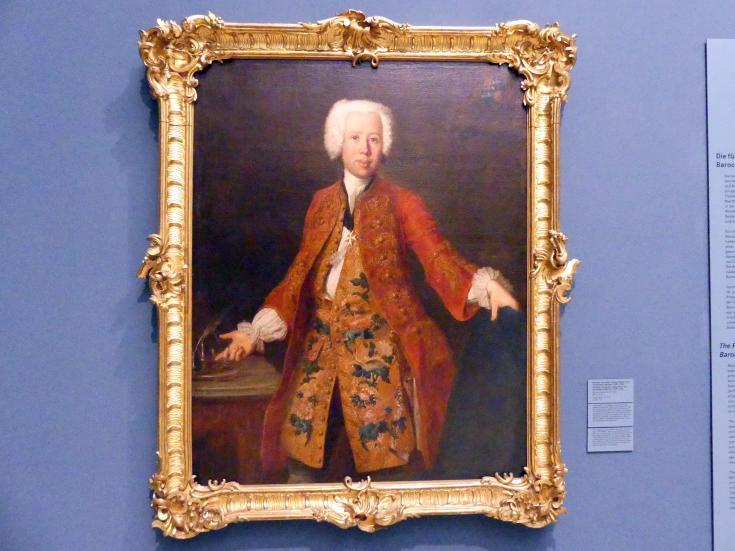 Antoine Pesne: Minister Christoph Ludwig Freiherr von Seckendorff-Aberdar (1709-1781), 1737