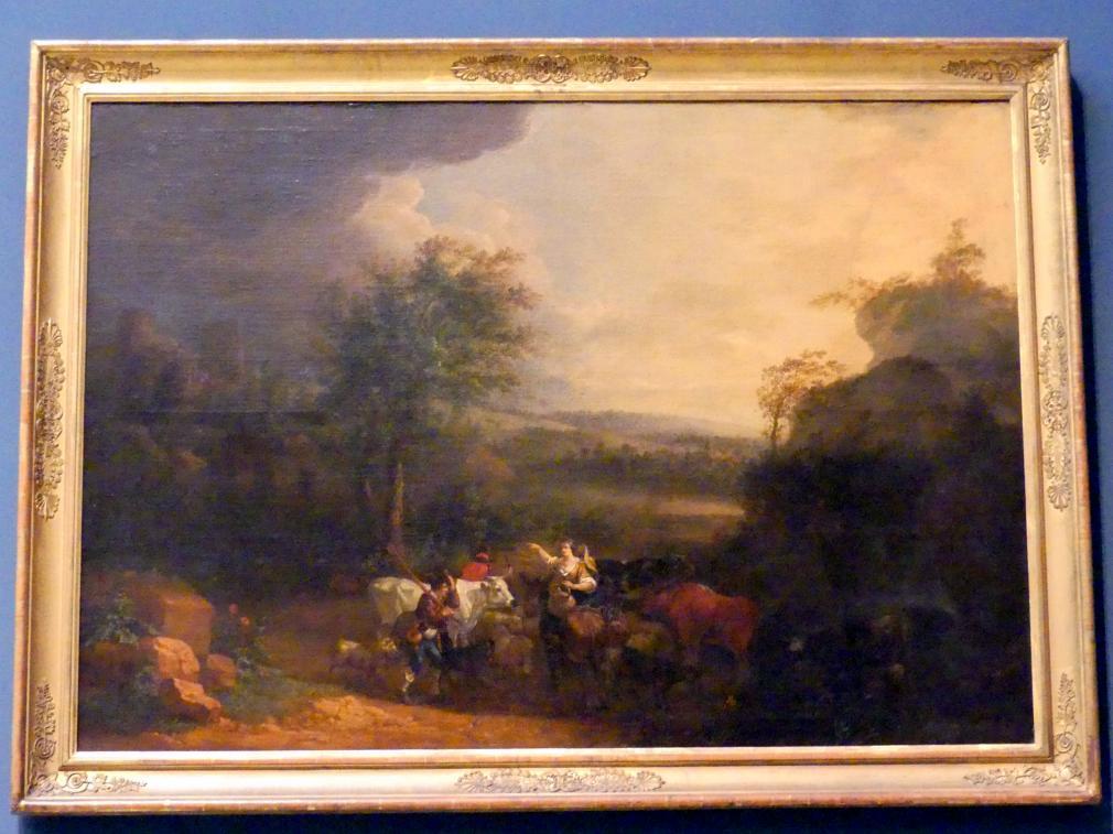 Daniel Hien: Ideale Landschaft, 1768