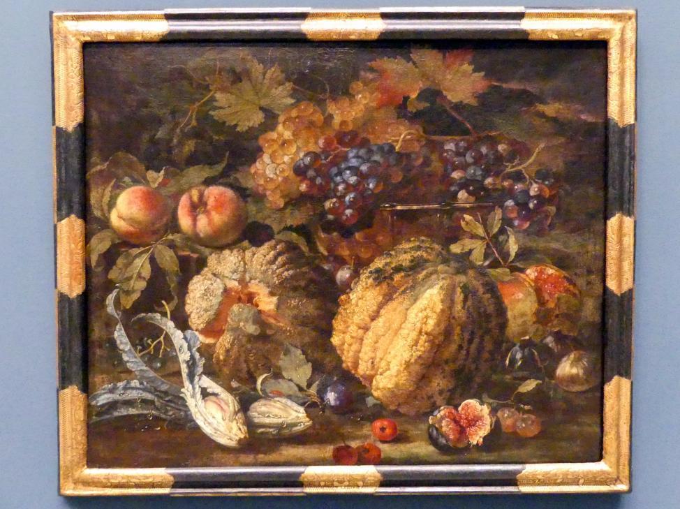 Franz Werner Tamm: Früchtestillleben, 1705 - 1707