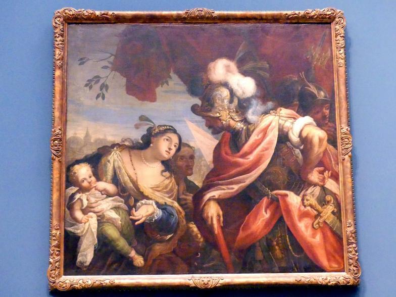 Coriolan begegnet seiner Familie, 2. Hälfte 17. Jhd.
