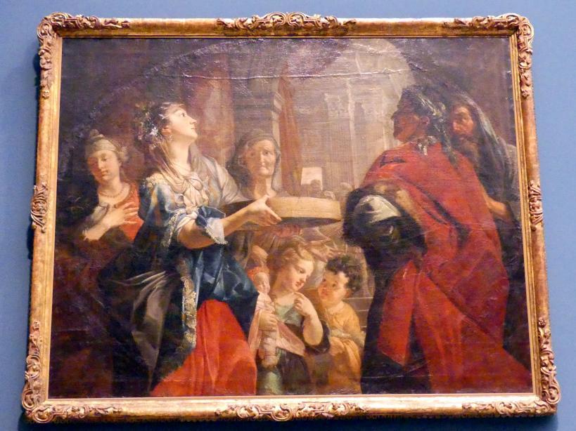 Johann Rudolf Byss: Die Probe der Vestalin Tuscia, Um 1692