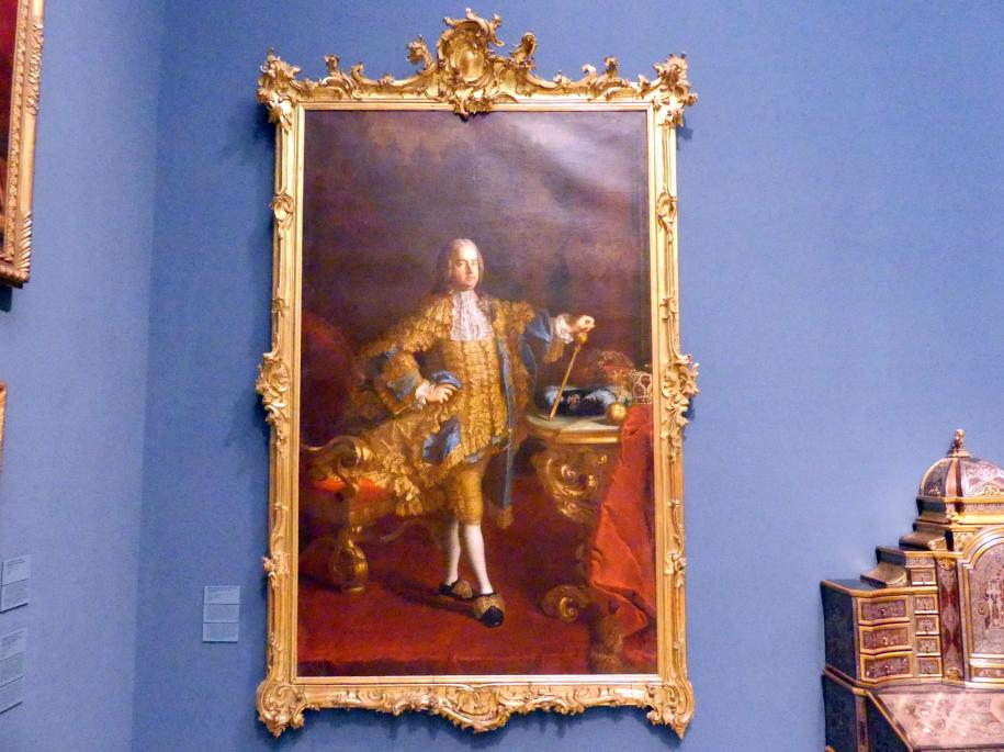 Martin van Meytens der Jüngere: Prunkschreibtisch, um 1745 - 1750