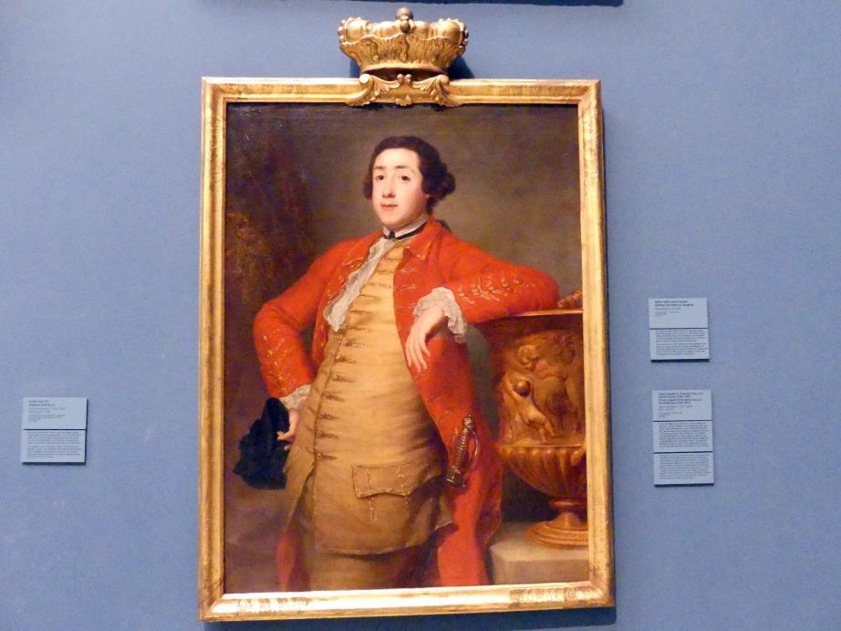 Anton von Maron: Fürst Leopold III. Friedrich Franz von Anhalt-Dessau (1740-1817), um 1766