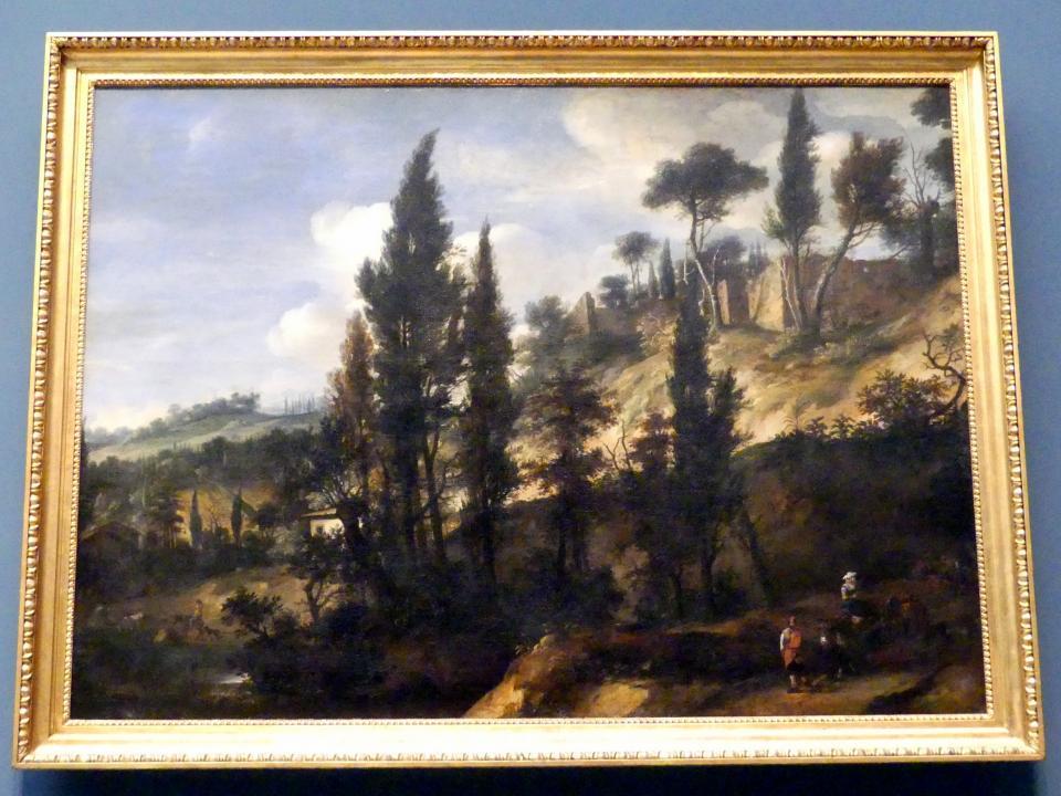 Italienische Landschaft, 2. Hälfte 17. Jhd.