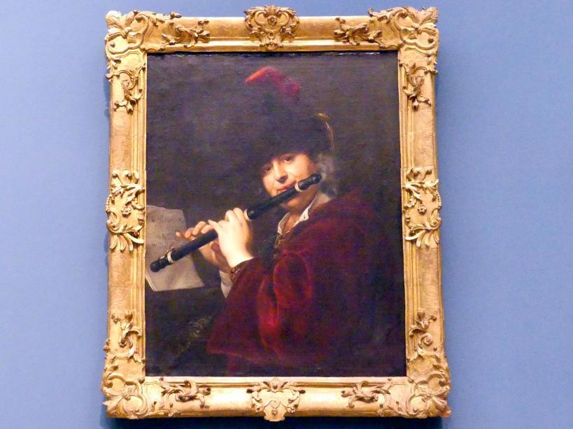 Johann Kupetzky: Bildnis eines Querflötenspielers, um 1709