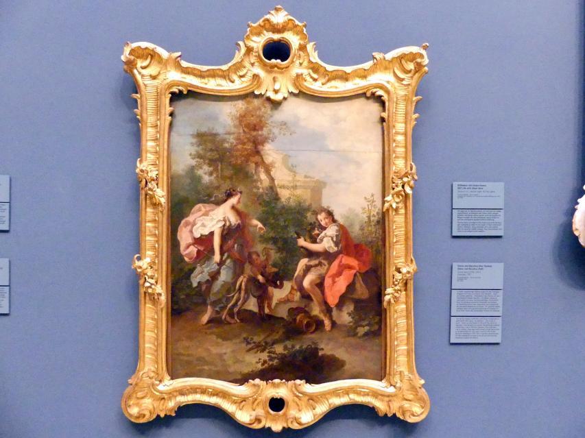 Anton Kern: Diana und Bacchus (Der Herbst), 1747