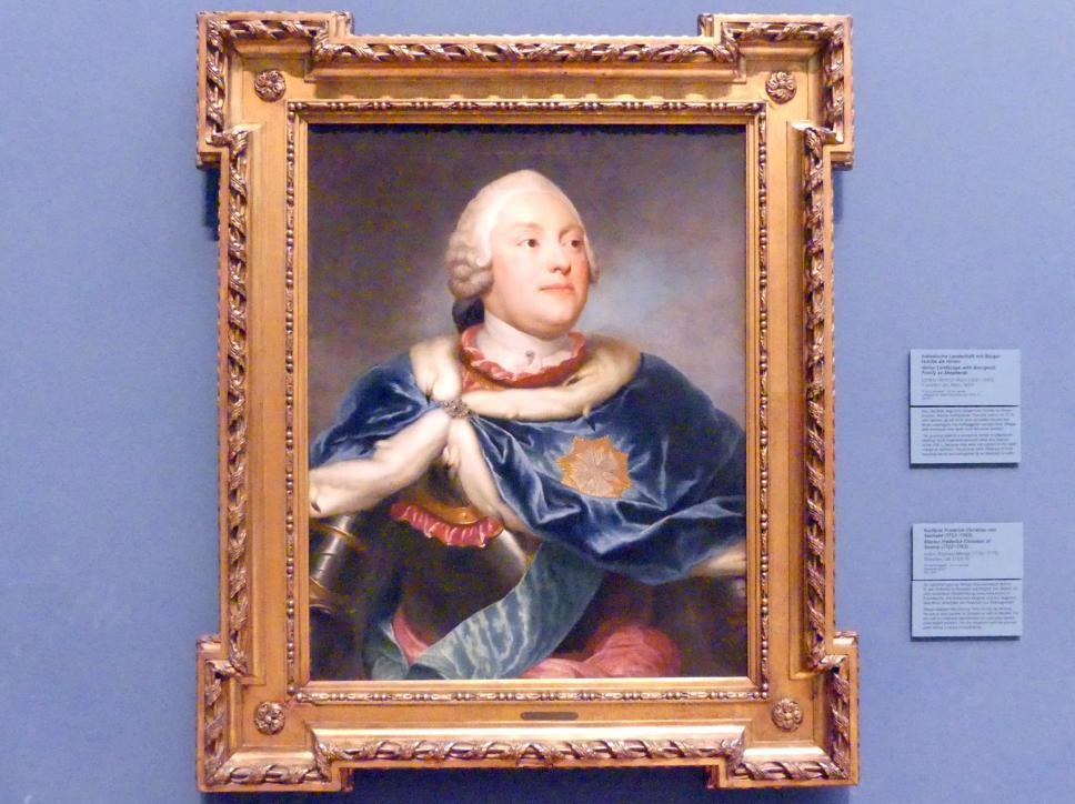 Anton Raphael Mengs: Kurfürst Friedrich Christian von Sachsen (1722-1763), um 1750 - 1751
