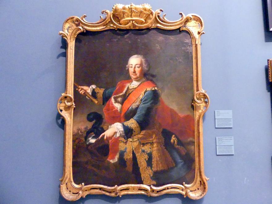Martin van Meytens der Jüngere: Fürst Karl August Friedrich von Waldeck (1704-1763), um 1740