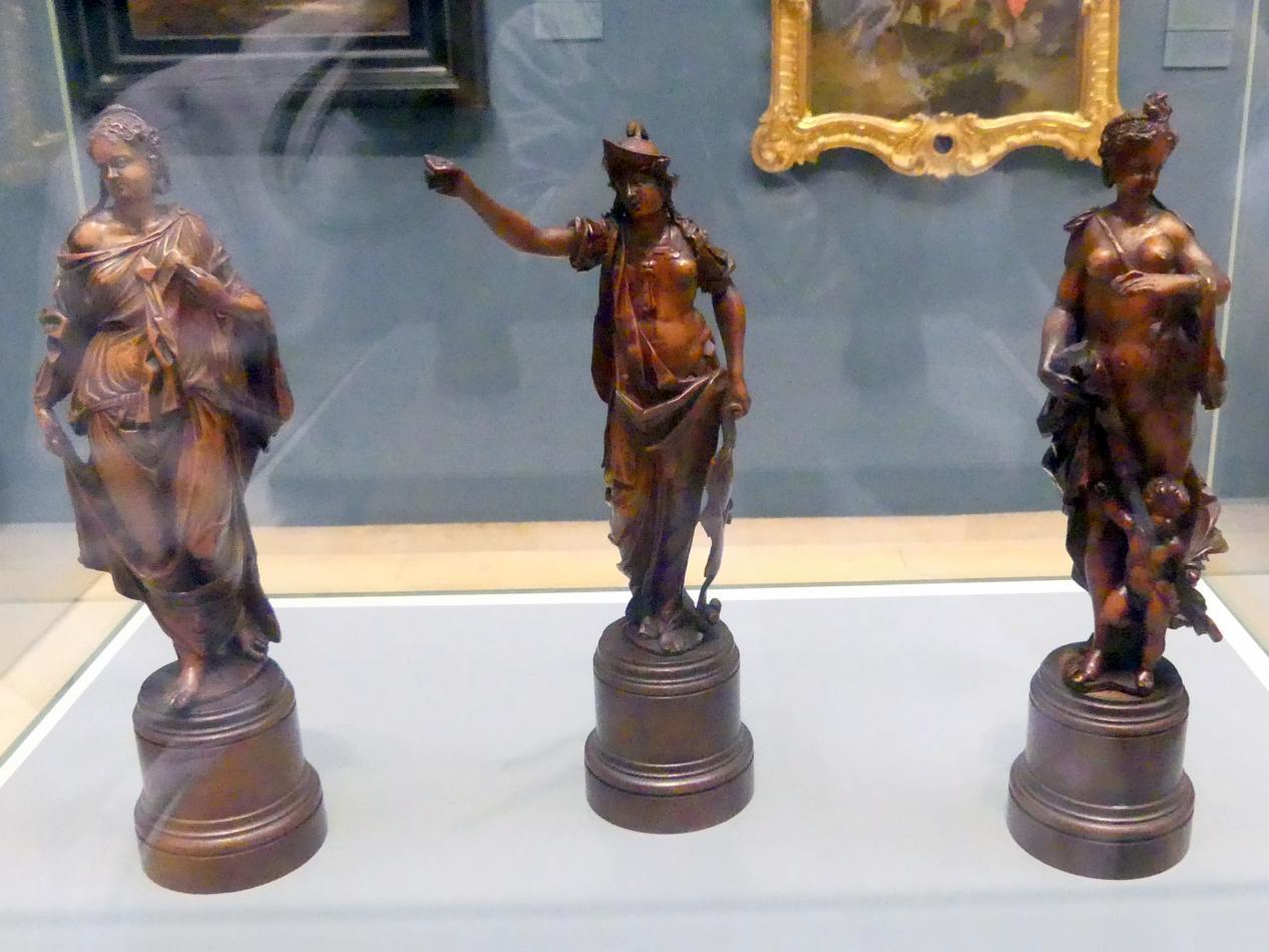 Caspar Menneler: Göttinnen des Parisurteils: Juno, Minerva und Venus, Um 1650