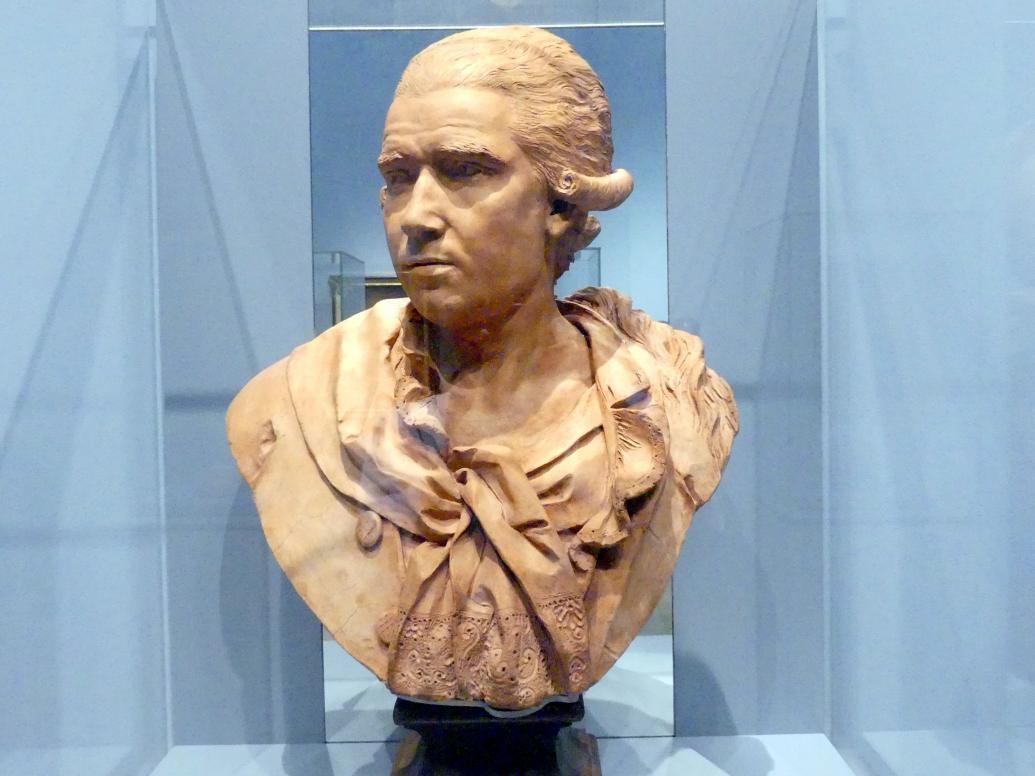Ignaz Christoph Russinger: Porträtbüste des Porzellanmodelleurs Laurentius Russinger (1739-nach 1810), 1785