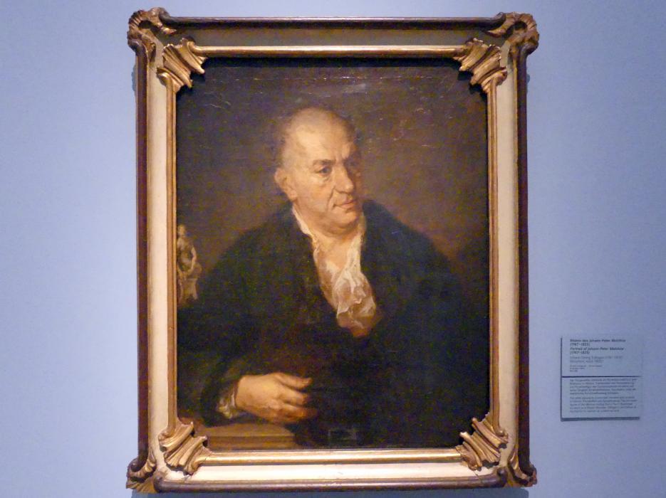 Johann Georg Edlinger: Bildnis des Johann Peter Melchior (1747-1825), Nach 1800