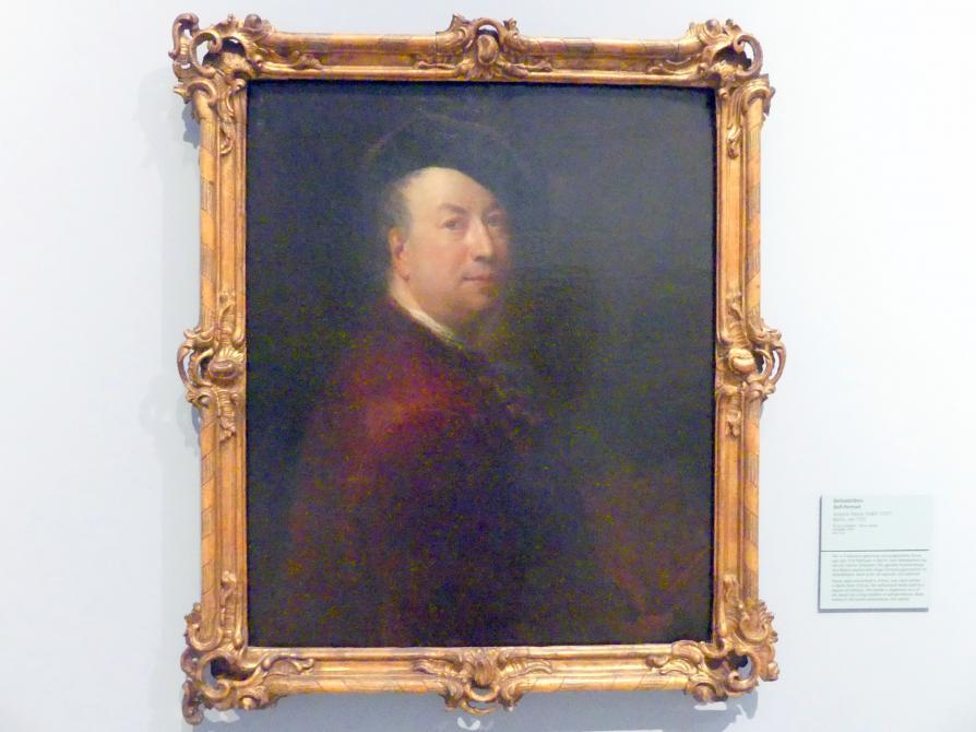 Antoine Pesne: Selbstbildnis, Um 1725