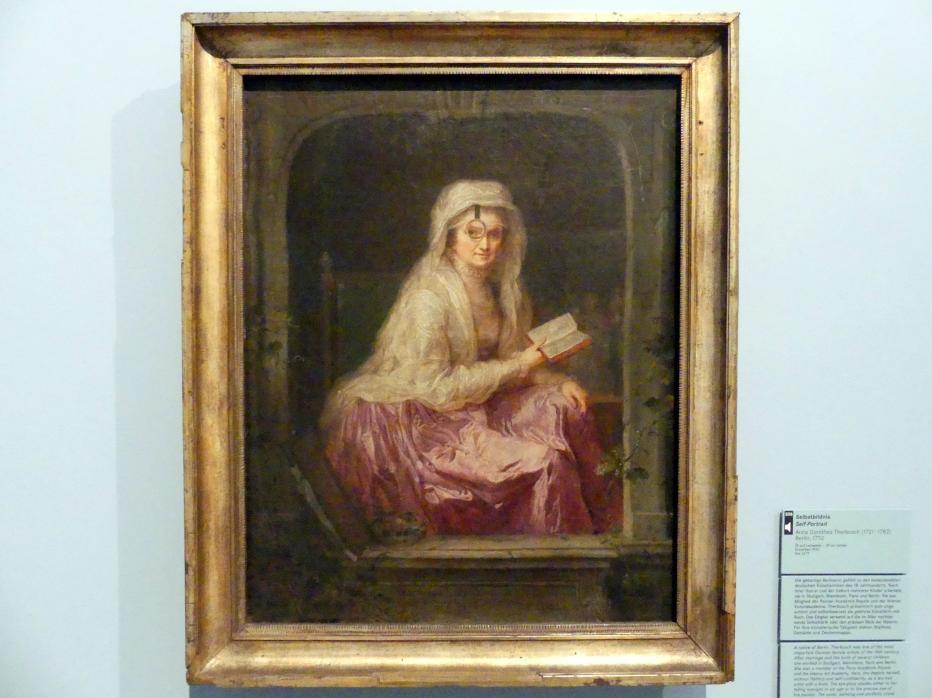 Anna Dorothea Therbusch: Selbstbildnis, 1782