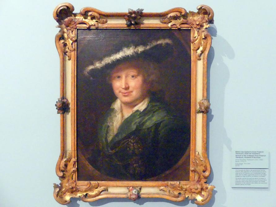 Anna Dorothea Therbusch: Bildnis des Gastwirts Ernst Friedrich Therbusch (1711-1773), des Gatten der Künstlerin, Um 1770 - 1771