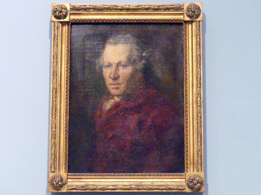 Johann Georg Edlinger: Bildnis des Bildhauers Roman Anton Boos (1733-1810), Nach 1790