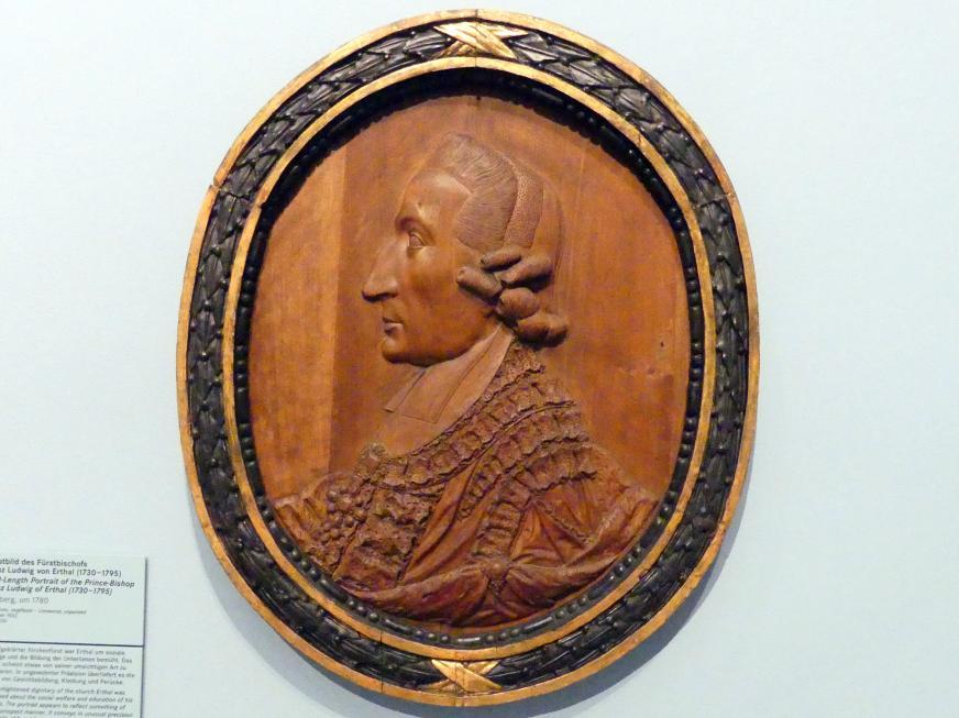 Brustbild des Fürstbischofs Franz Ludwig von Erthal (1730-1795), Um 1780