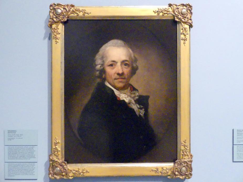 Anton Graff: Selbstbildnis, Um 1790 - 1791