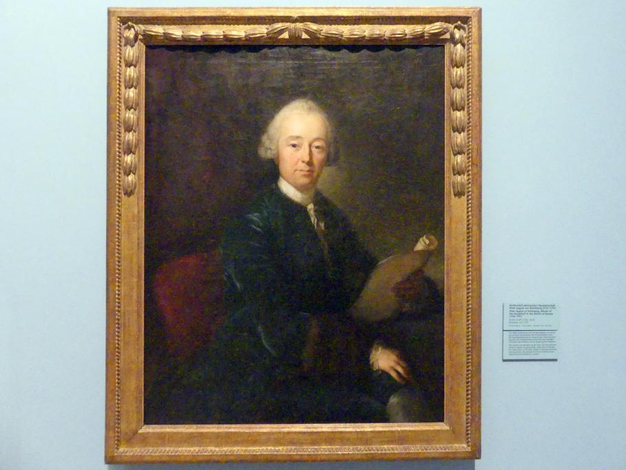 Anton Graff: Kurfürstlich sächsischer Hausmarschall Peter August von Schönberg (1732-1791), um 1775