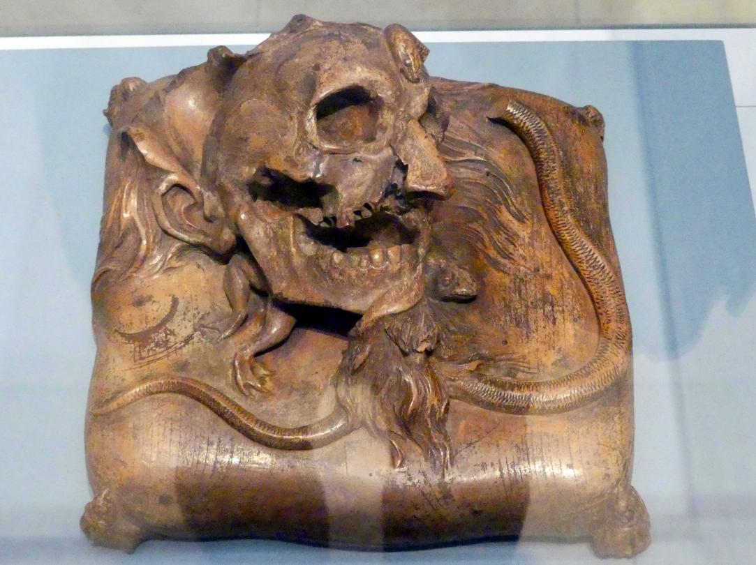Paul Egell: Memento mori, Um 1720 - 1725
