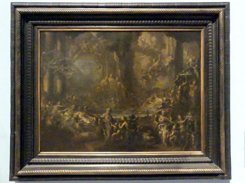 Ottmar Elliger der Jüngere: Die Hochzeit von Peleus und Thetis, Um 1710 - 1720