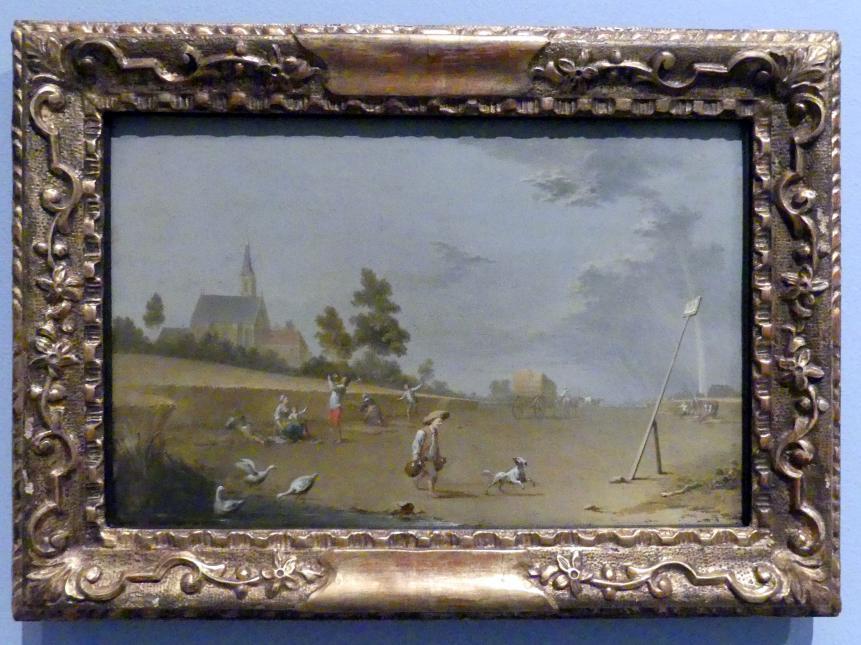 Norbert Grund: Die Ernte, Nach 1750