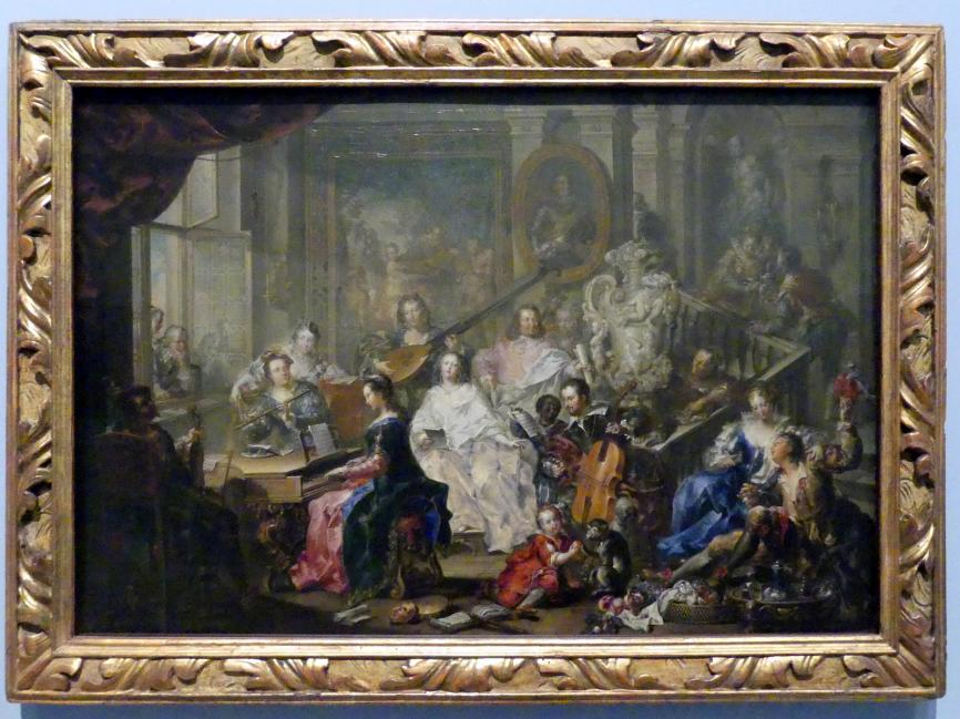 Johann Georg Platzer: Das Konzert, Um 1750
