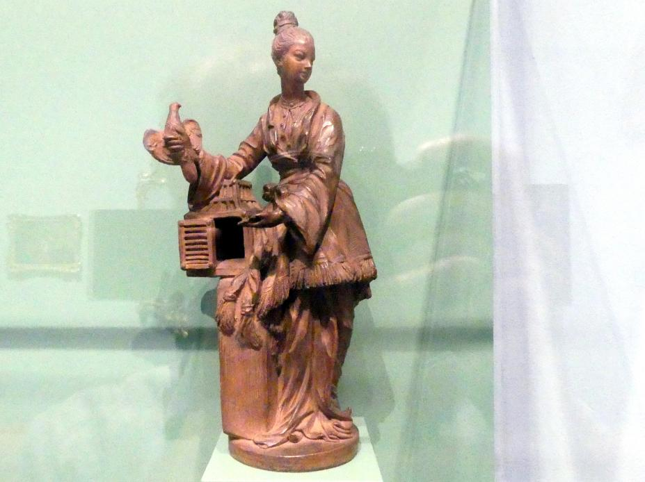 Friedrich Elias Meyer: Chinesin mit Vogelbauer, Um 1750 - 1760