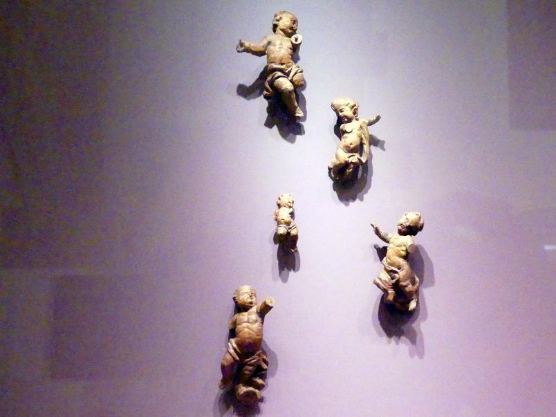 Fünf Bozzetti für Kinderengel, Mitte 18. Jhd.