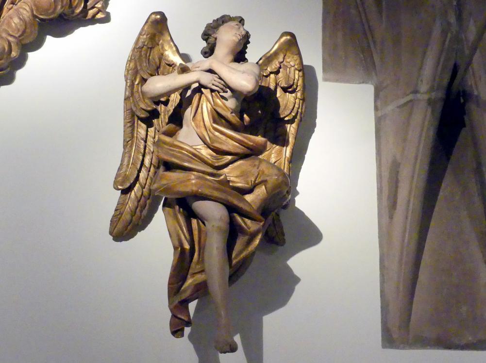 Engel mit gekreuzten Händen, Mitte 18. Jhd.