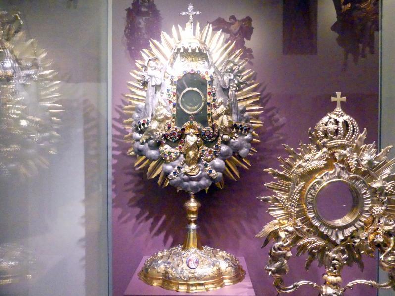 Strahlenmonstranz, um 1725 - 1730