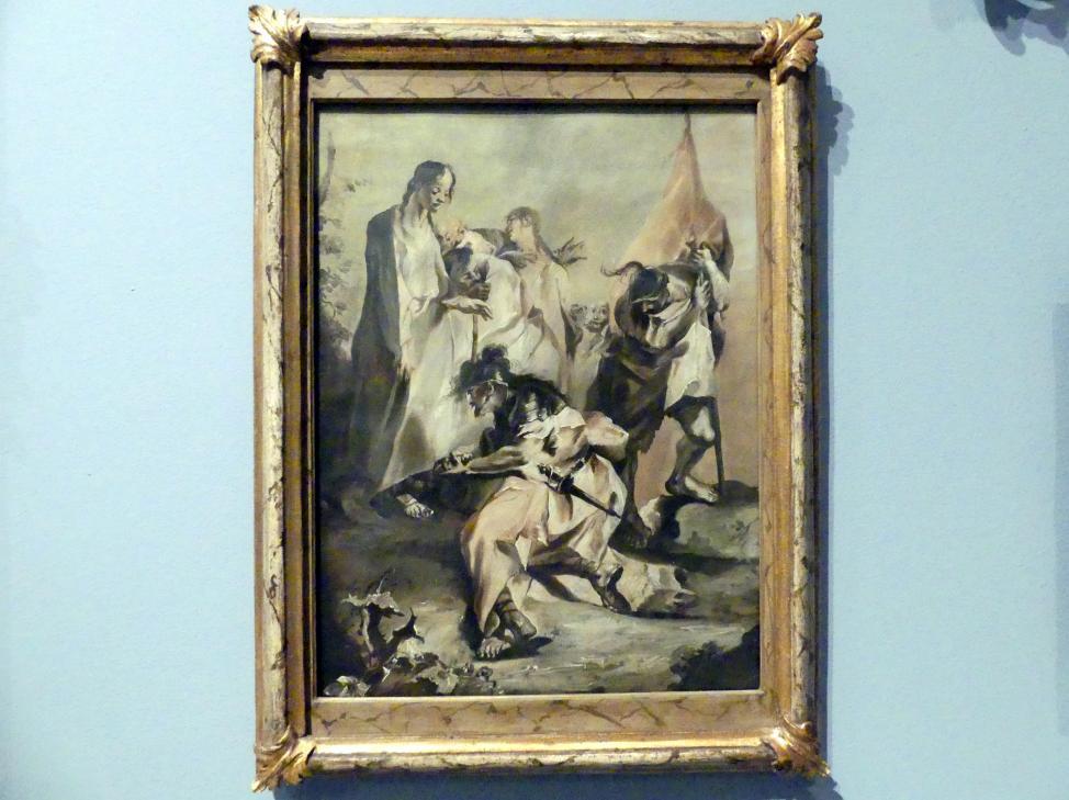 Franz Anton Maulbertsch (Schüler): Christus und der Hauptmann von Kapernaum, Um 1765