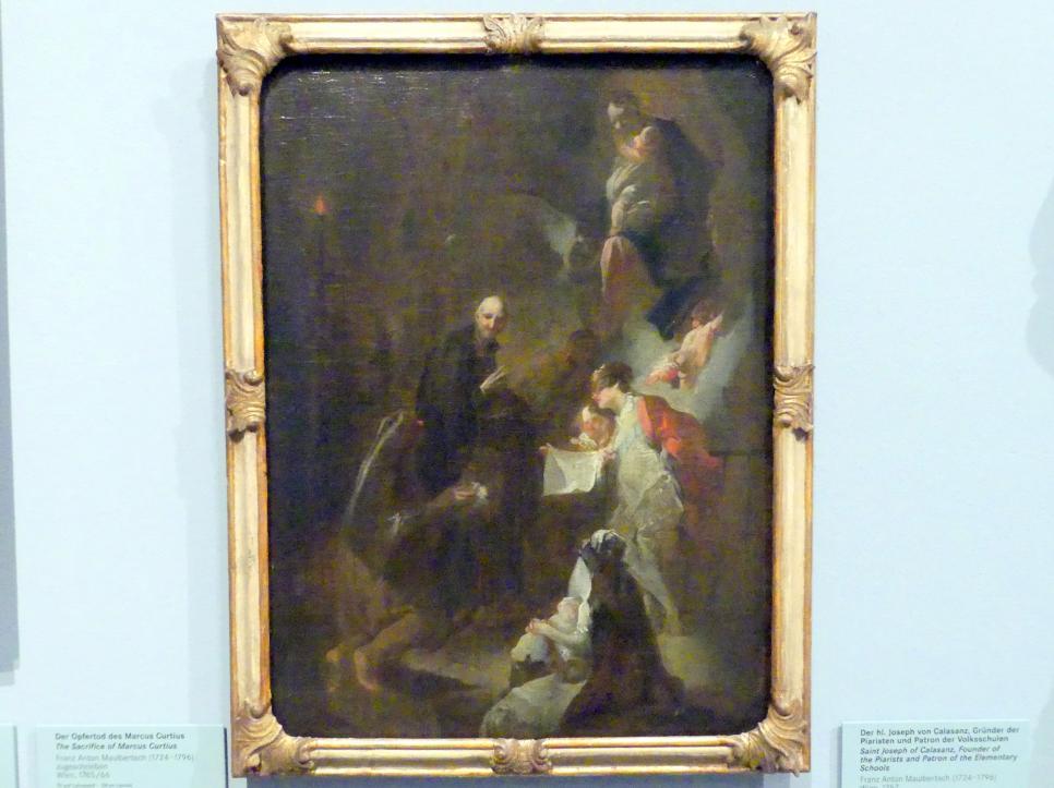 Franz Anton Maulbertsch: Der hl. Joseph von Calasanz, Gründer der Piaristen und Patron der Volksschulen, 1757