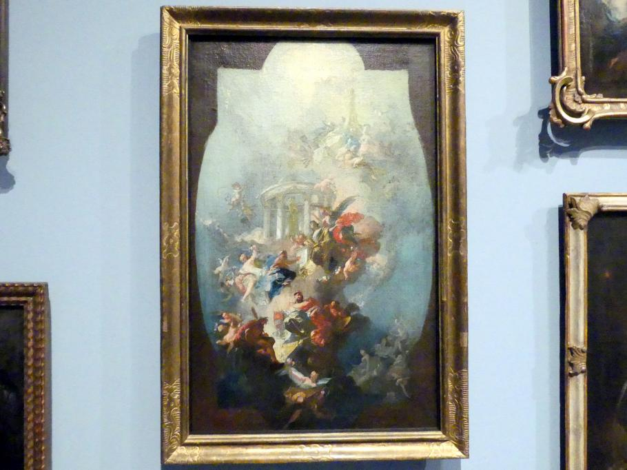 Franz Anton Maulbertsch: Allegorie auf das Haus Habsburg, Um 1774 - 1780
