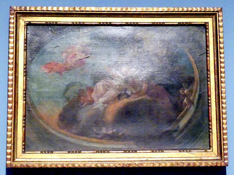 Götterversammlung auf Wolken, Um 1760 - 1770