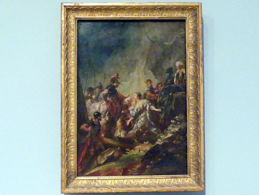 Johann Christian Thomas Wink: David und Abigail, Um 1770