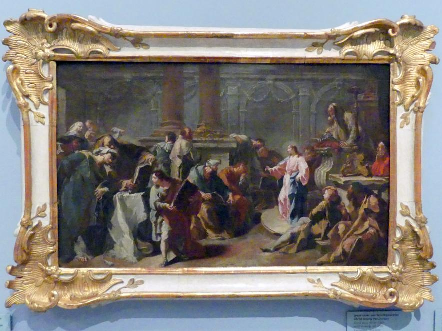 Anton Kern: Jesus unter den Schriftgelehrten, Um 1730