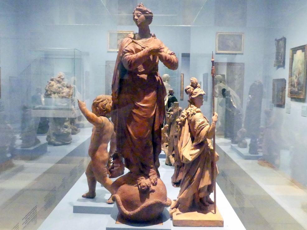 Roman Anton Boos: Maria Immaculata, Um 1780 - 1790