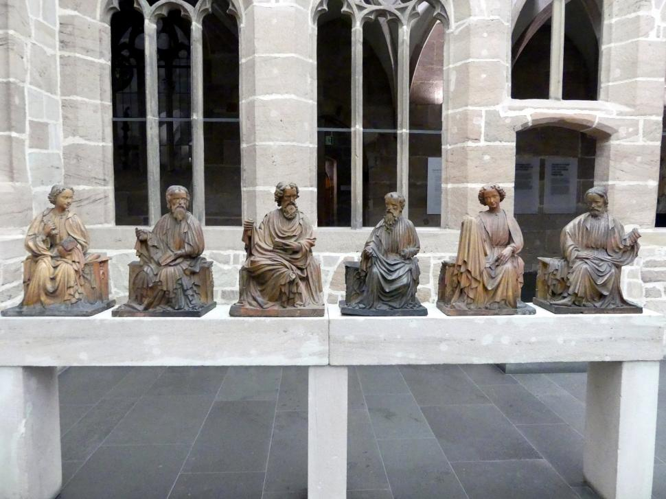 Meister der Nürnberger Tonapostel: Sechs Apostel, Um 1420