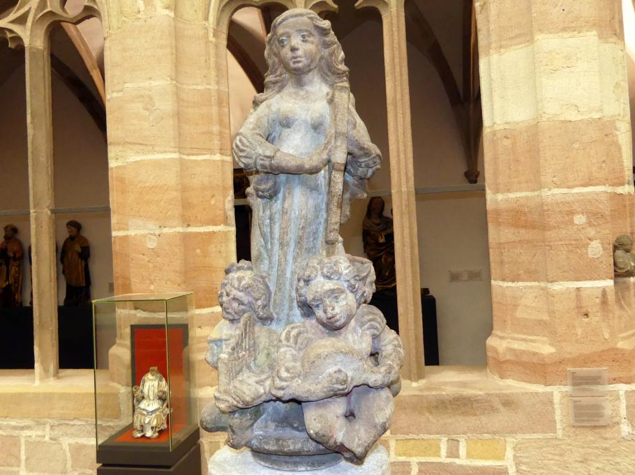 Adam Kraft: Harfenspielerin, Um 1505