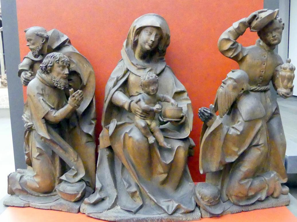 Meister der Heilsbronner Marienkrönung: Anbetung der Hl. Drei Könige, Um 1520