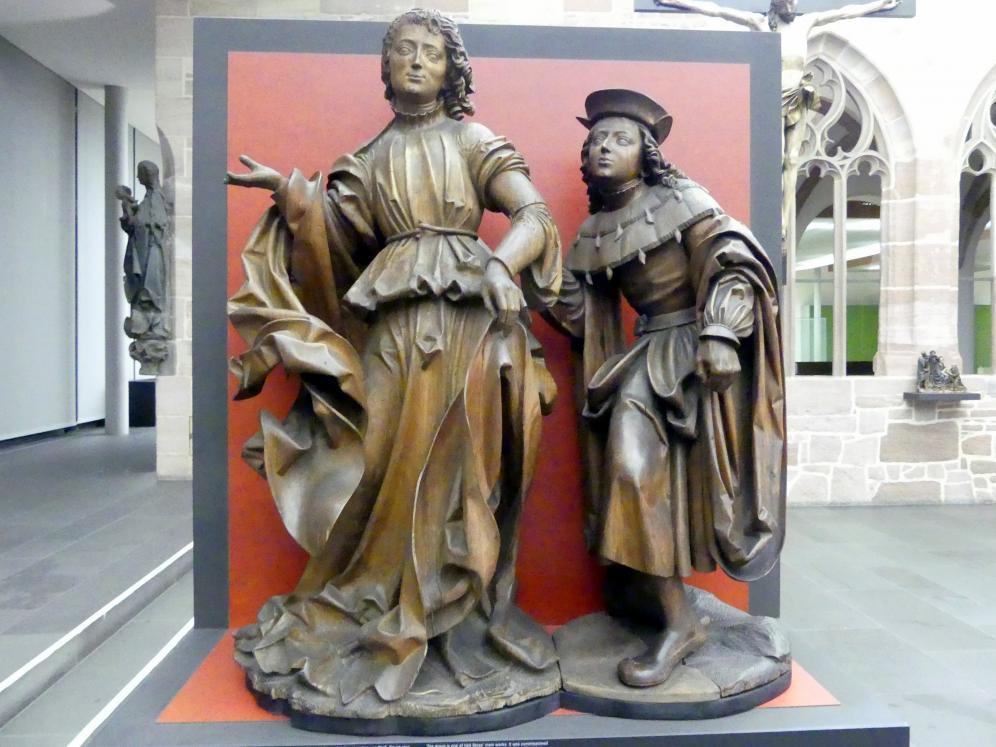 Veit Stoß: Der Erzengel Raphael und der junge Tobias, 1516