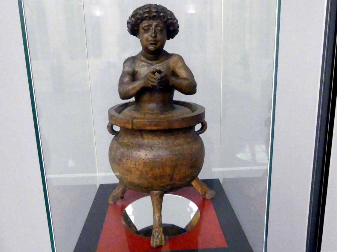 Veit Stoß: Hl. Veit im Ölkessel, Um 1520