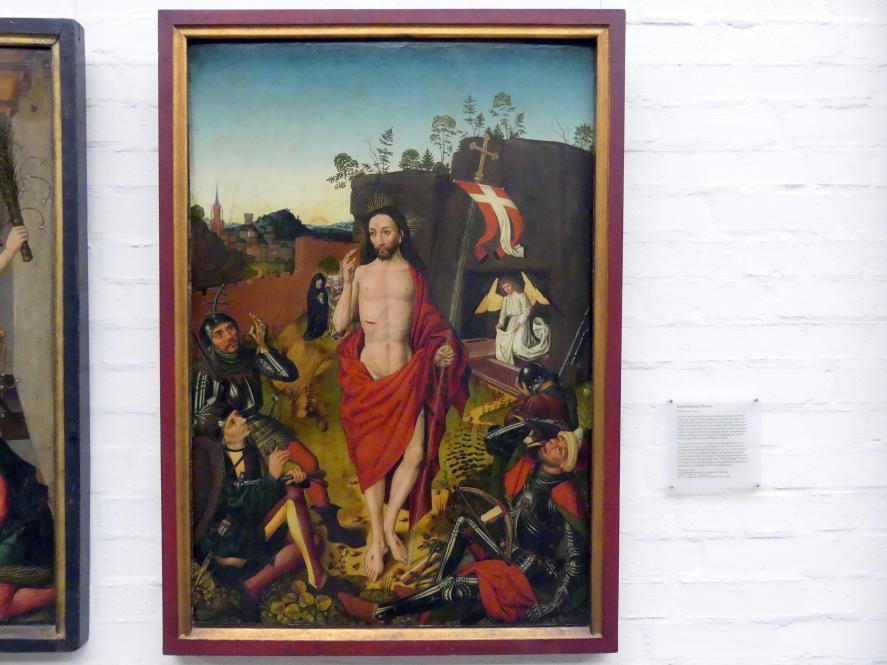 Meister des Angst-Altars: Auferstehung Christi, Um 1490