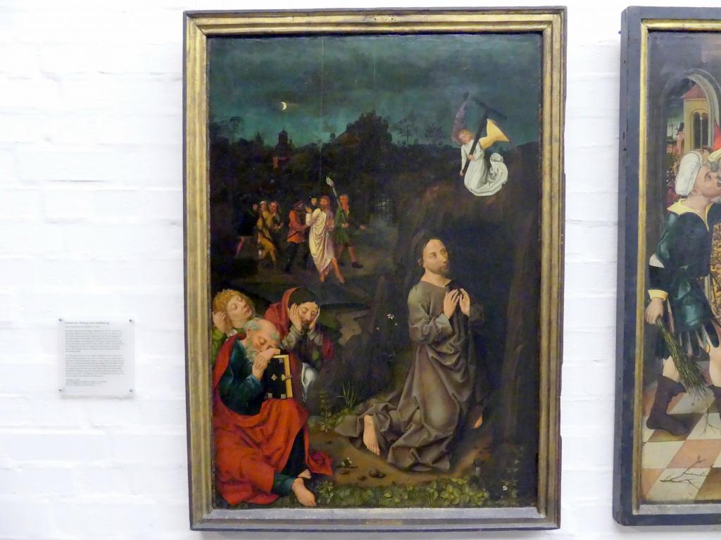 Meister des Angst-Altars: Das Gebet am Ölberg, Um 1490