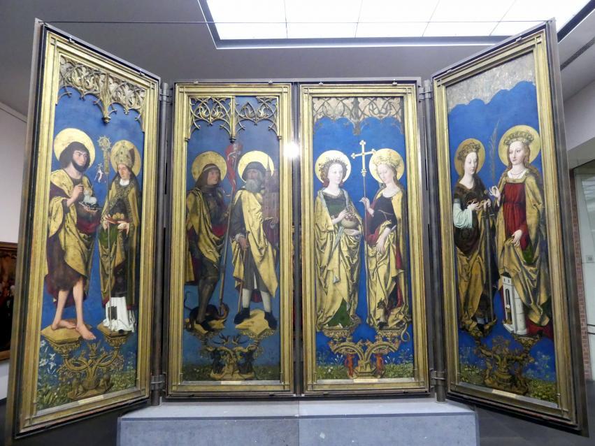 Meister des Augustiner-Altars: Altar aus der Augustinerkirche Nürnberg, 1487