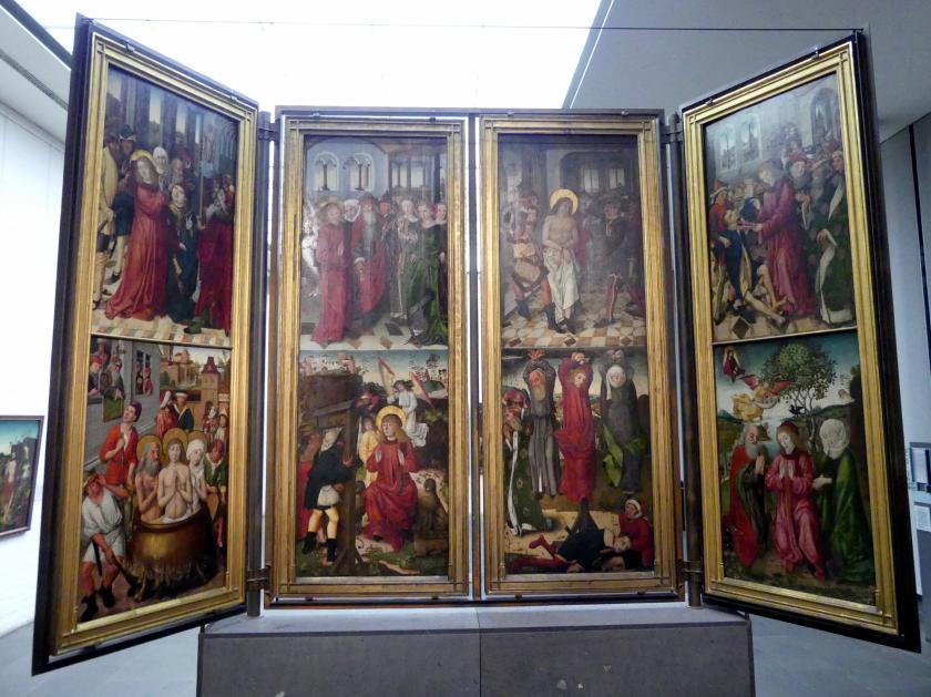 Meister des Augustiner-Altars: Altar aus der Augustinerkirche Nürnberg, 1487, Bild 2/3