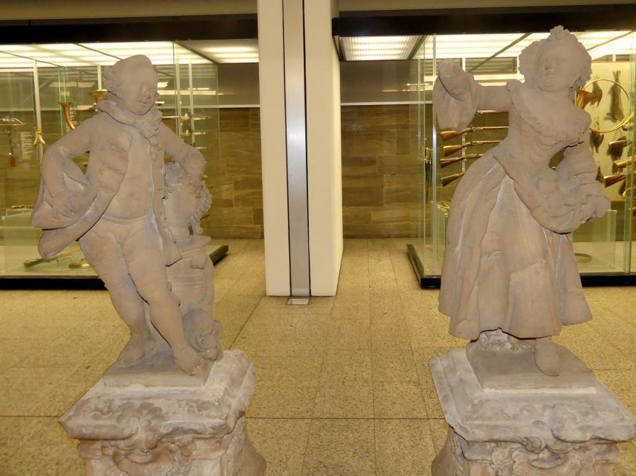 Joseph Bonaventura Mutschele: Mädchen und Knabe, um 1762