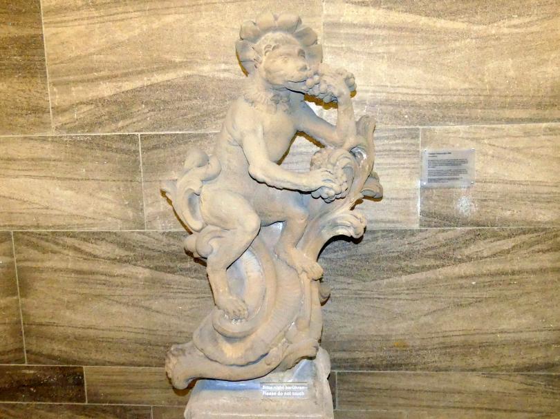 Joseph Bonaventura Mutschele: Trauben fressender Affe, um 1762