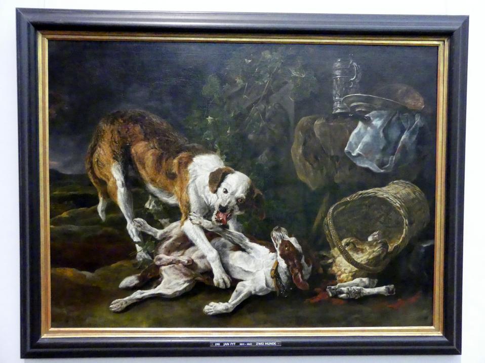 Jan Fyt: Zwei Hunde an einem Kalbskopf, Undatiert